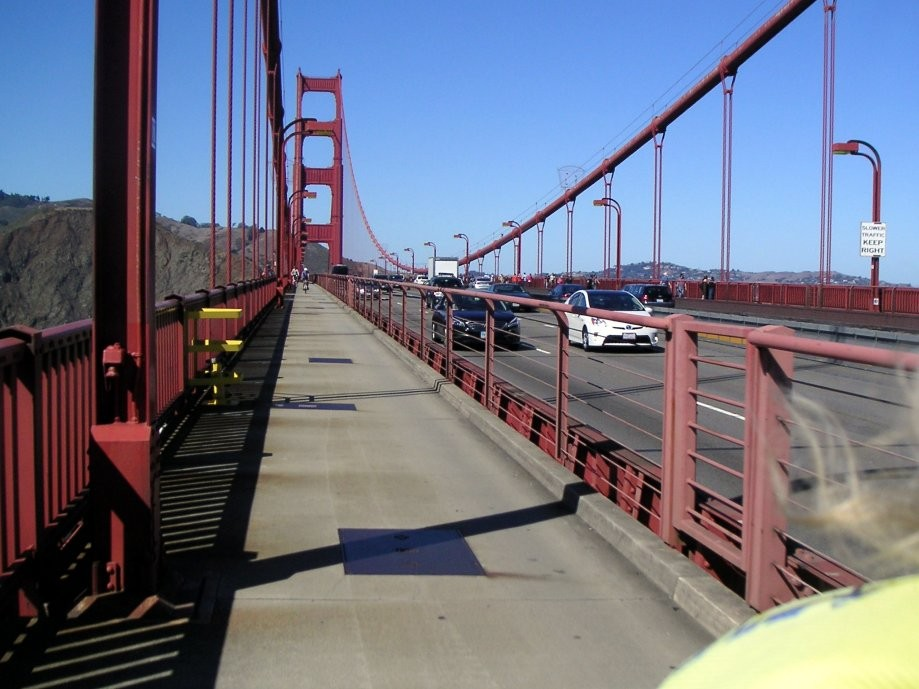 Trip photo #26/27 Back across the Golden Gate