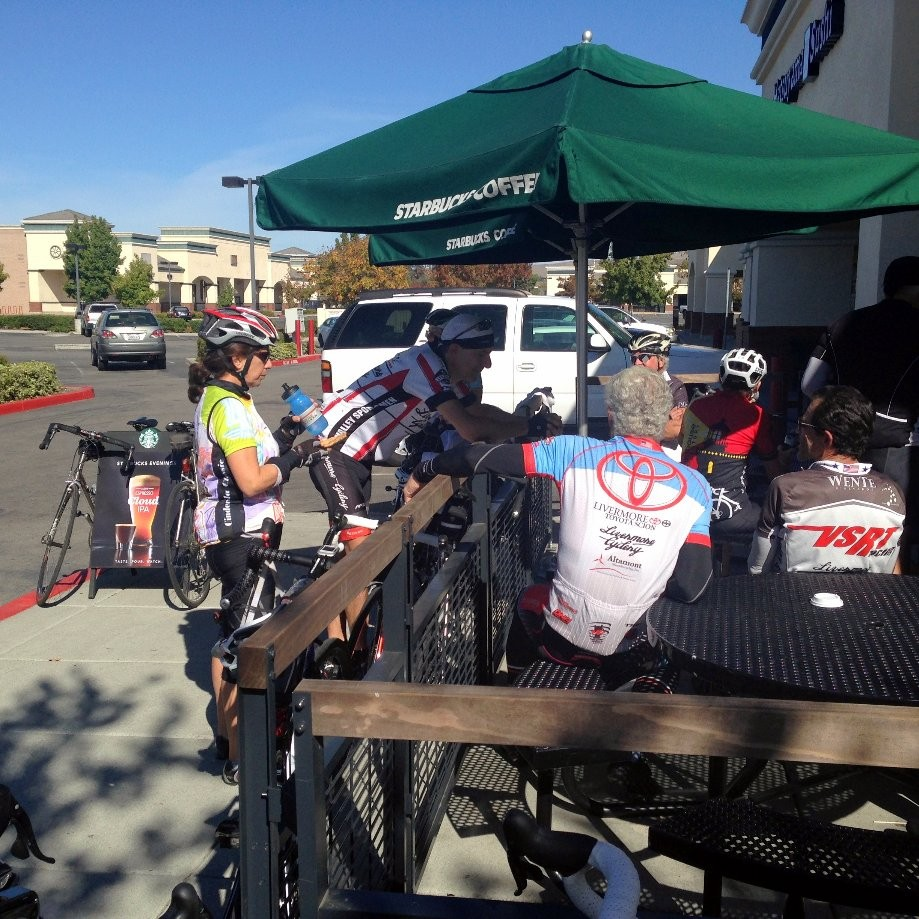 Trip photo #2/11 Rest stop at Starbucks on Vasco