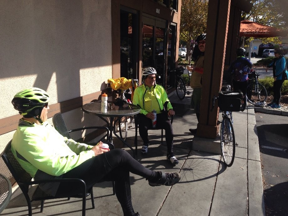 Trip photo #11/11 Refreshment stop at Peet's