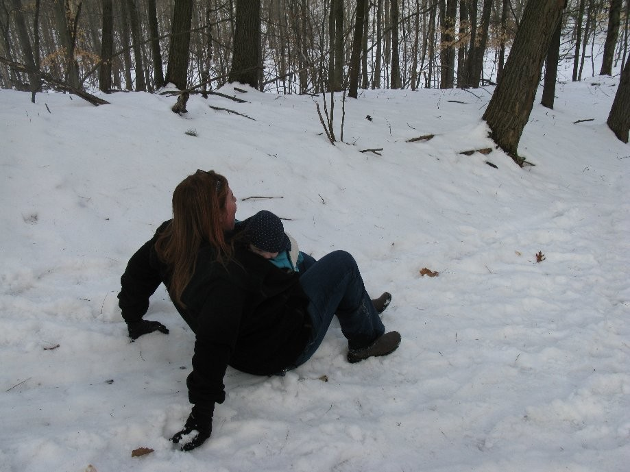 Trip photo #14/17 Sledding without the sled