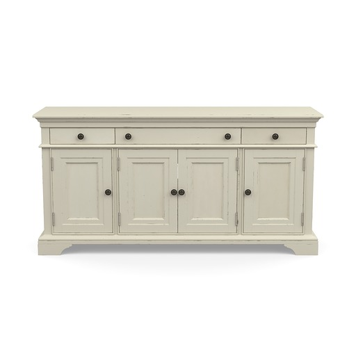 Prizefighter Console White Finish