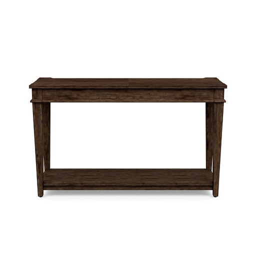 Azaela Sofa Table Brown Finish
