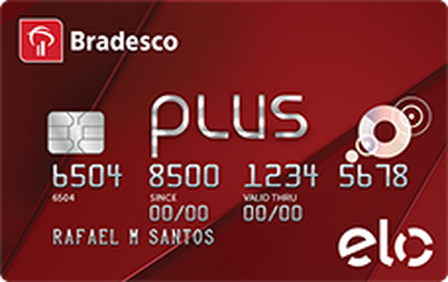 Cartao bradesco elo plus internacional