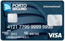 Cartao porto seguro visa international