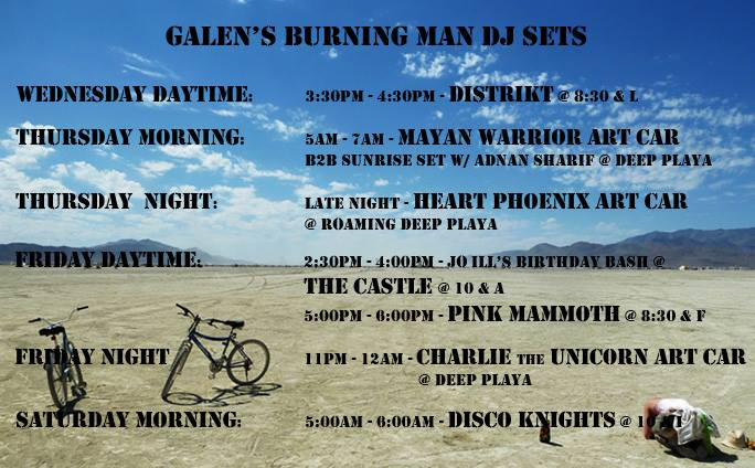music on the playa...come find me and let's dance.