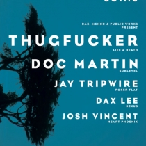 Dax Lee - live at Public Works with Thugfucker and Doc Martin on 10-10-2014