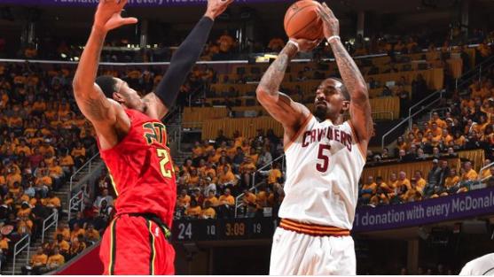 JR Smith Goes Straight NBA Jam Vs Hawks