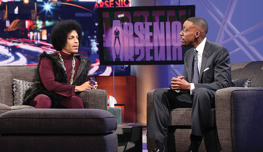 Arsenio is None To Pleased with Sinead O'Connor