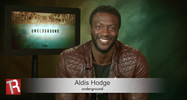 Aldis Hodge is a Star That Can Shine 'Underground' (Video)
