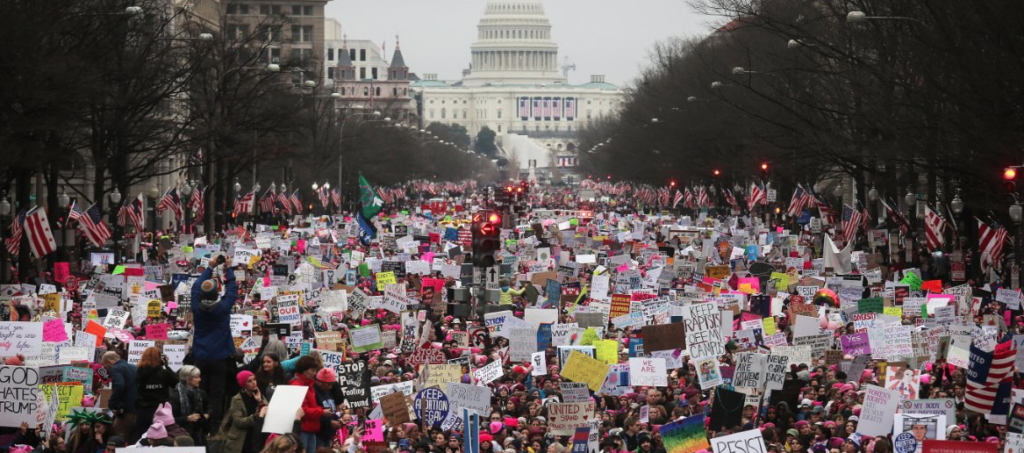 Record Numbers Represent for Womens Rights Around The Globe