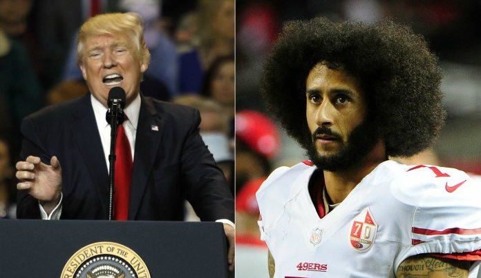Trump Takes Credit For Kaepernick Being Unsigned
