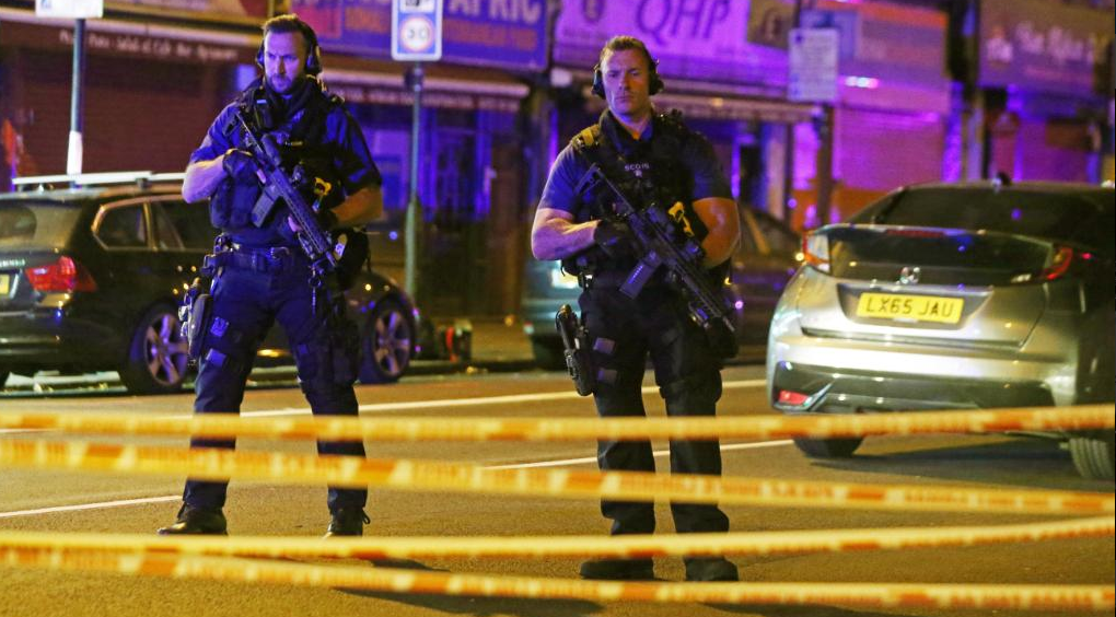 Terrorist Strike London Again! Van Attack At Mosque