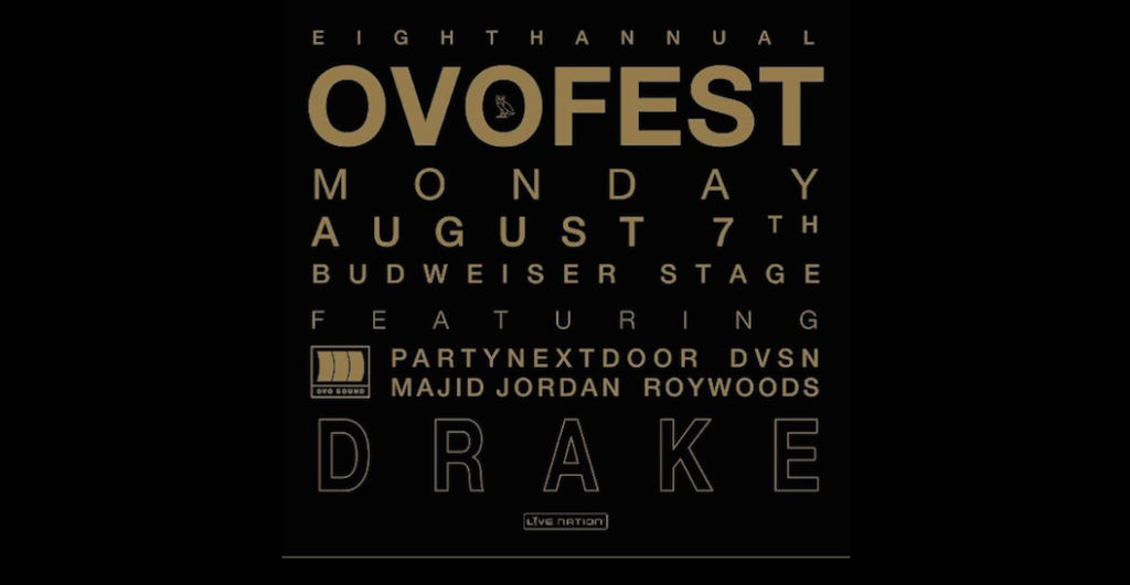It's Time For Drake's OVO Fest. Here is The Lineup