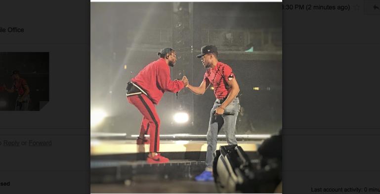 K Dot Shows Chicago Love During Damn. Tour