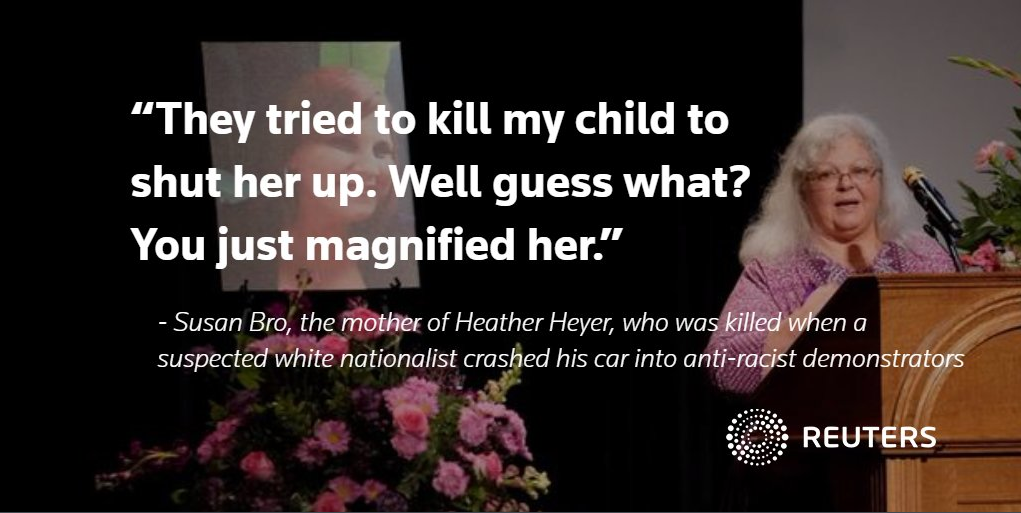 Heather Heyer Remembered at Memorial Service