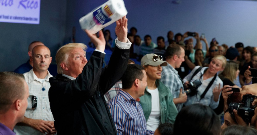 Trump Went To Puerto Rico and.......