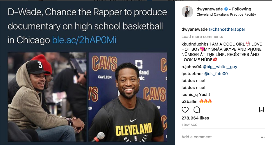 Chance And D Wade Are Making A Film For Chicago