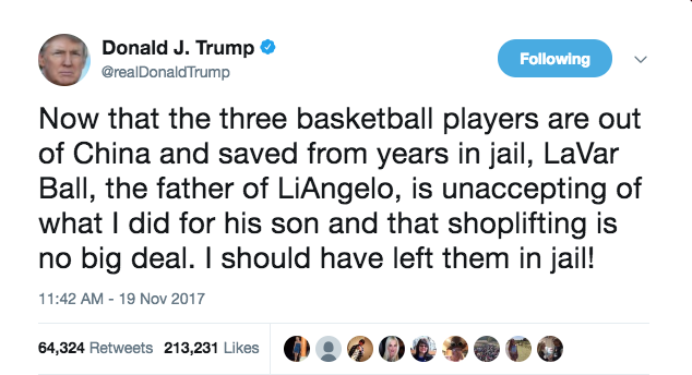 America's Two Biggest Talkers are Going At it, Trump vs Lavar