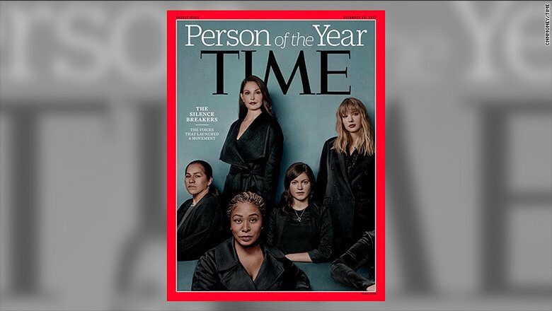 Time Magazine Names Person of The Year #SilenceBreakers