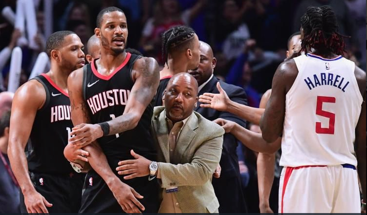 Police Called After Clippers-Rockets Locker room Cat Fight