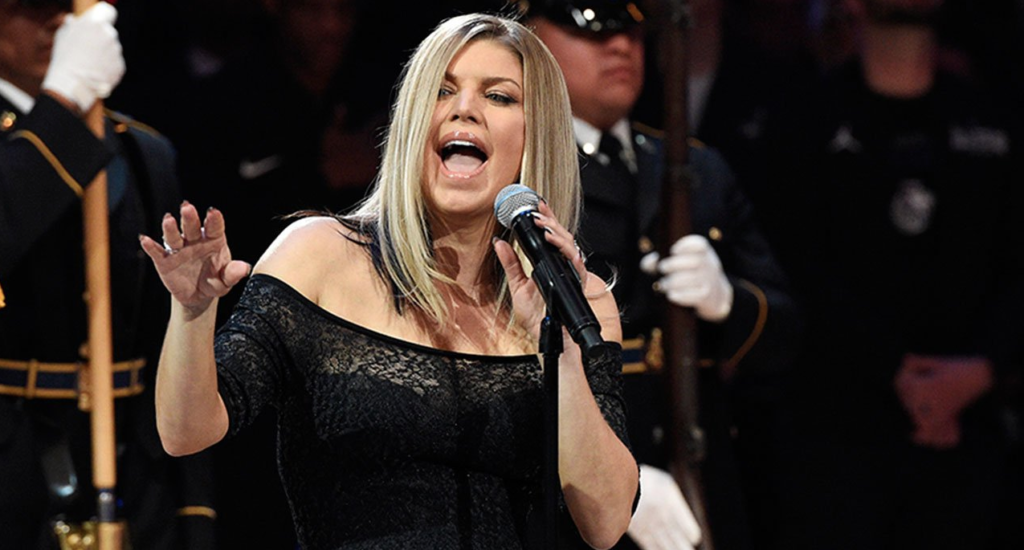 Fergie On National Anthem