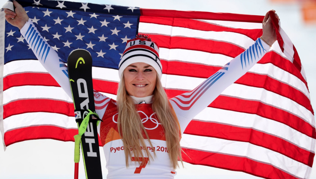 Lindsey Vonn Brings Home Another Medal In Last Olympics