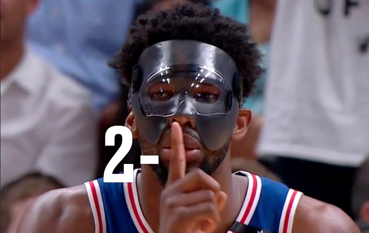 Joel Embiid Was Scary Good In His Playoff Debut