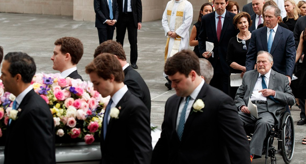Barbara Bush Is Laid To Rest