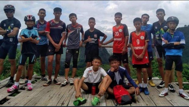 Praise God! All 12 Boys And Their Coach Are Saved