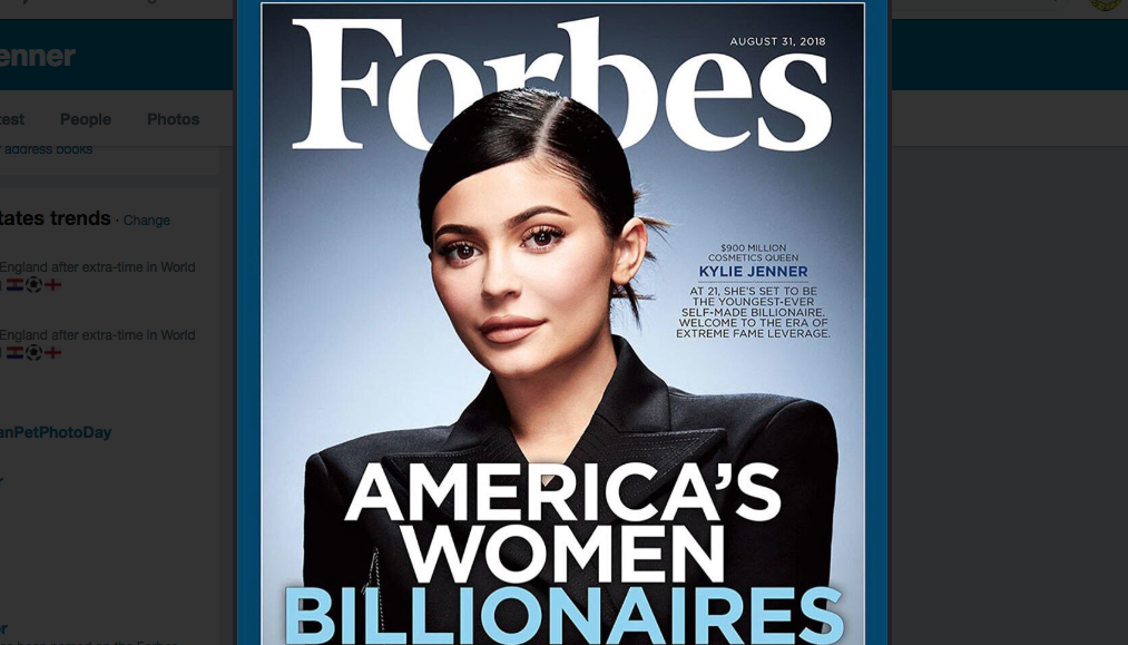 Wow! Kylie Jenner is On Her Way To A Billion