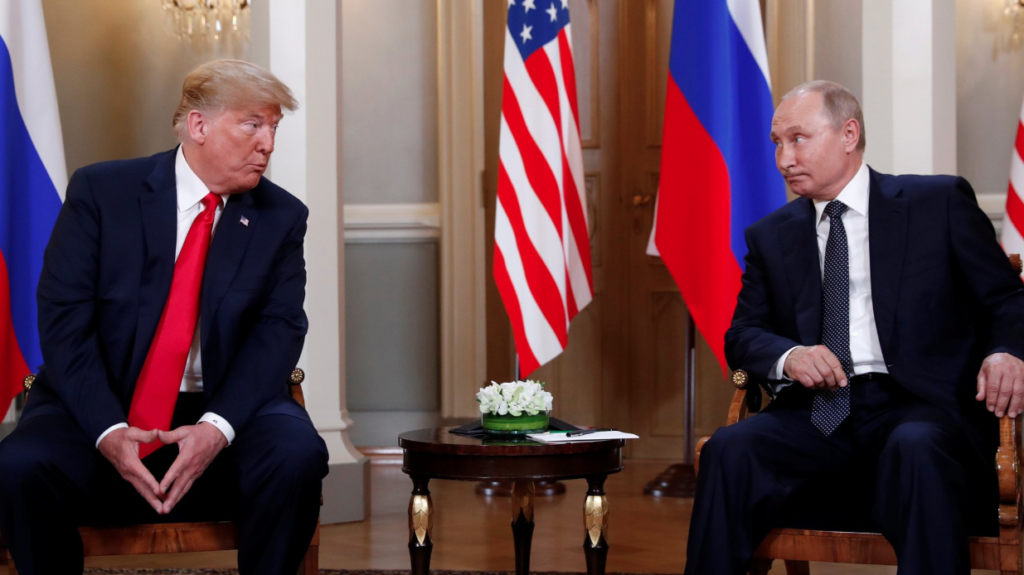 Trump and Putin Meet. What They Are Talking About?