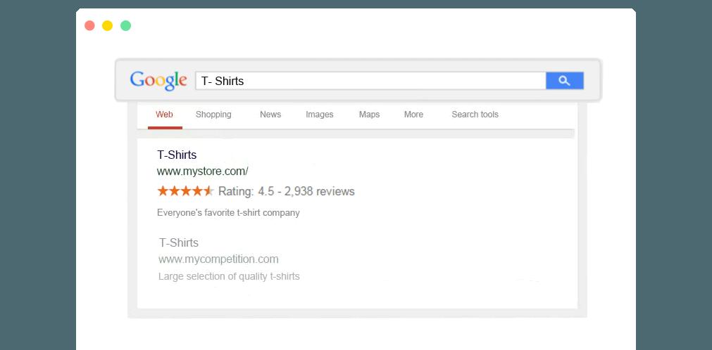 Gold stars in google