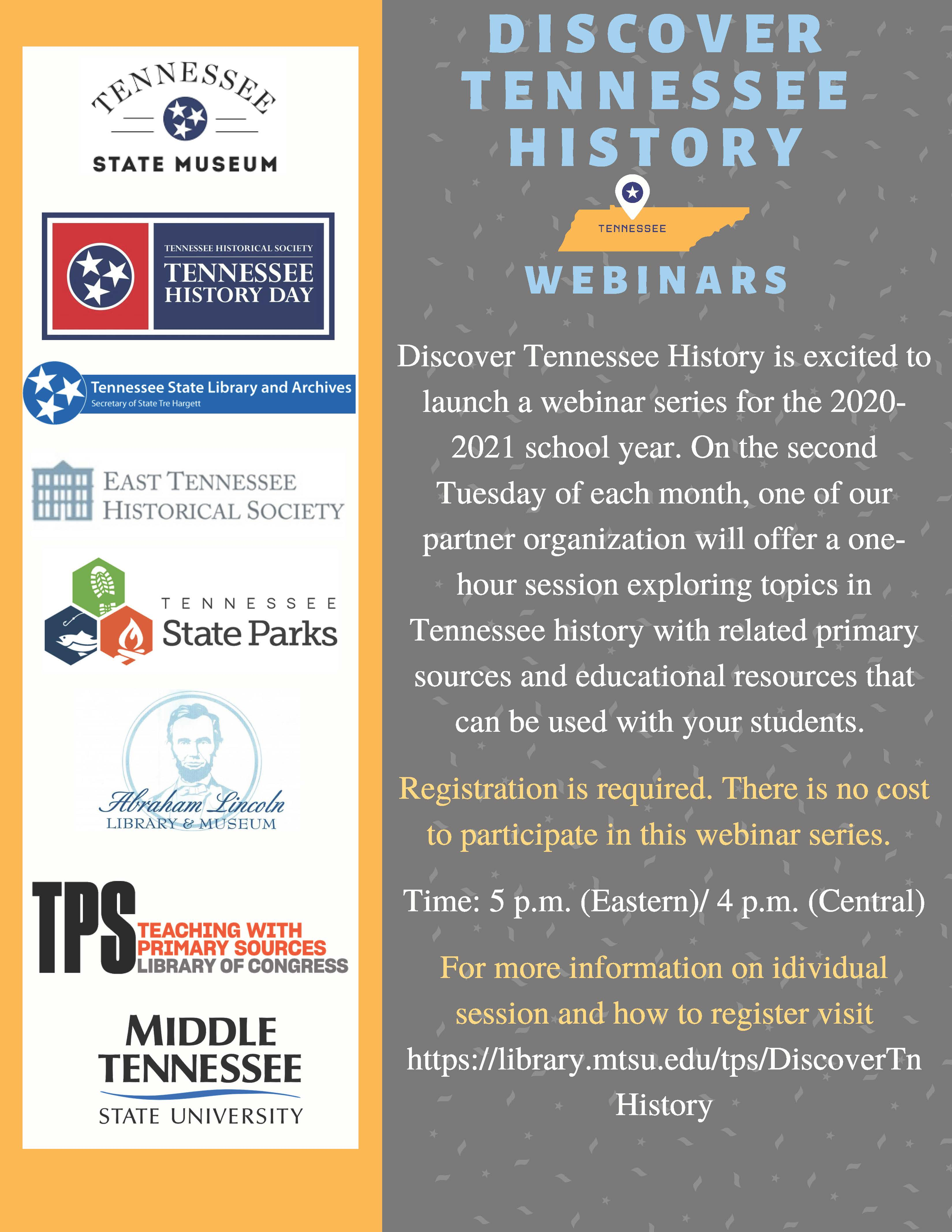 Discover TN 2020 Webinar Series