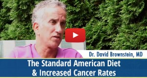 The Standard American Diet and increased Cancer Rates
