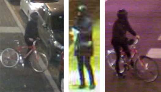University President Richard Englert released a statement on Friday. including photos of the suspect.