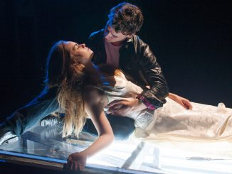 """Emiley Kiser, as Juliet, Connor Hammond, as Romeo, star in Quintessence's rendition of """"Romeo and Juliet."""" 