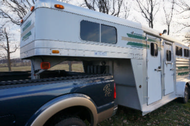2002 4 Star 15' X 7' THOROUGHBRED $12,000