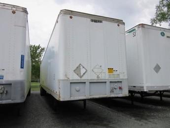 1996 FRUEHAUF 53x102 Roll Door Dry vans $4,900