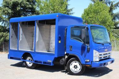 2008 Chevrolet W5500 HD 12ft Beverage Truck $28,895