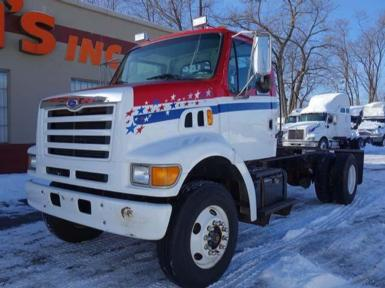 1997 Ford L8501 SINGLE AXLE STRAIGHT TK