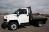 2003 GMC C5500 FLATBED WITH 50K. MILES