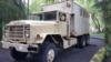 1989 6x6 military 5 ton truck with 17ft expandable box