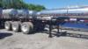 1994 Hyundai Tri-Axle Chassis -  Sand blast/paint! Tires/Wheels