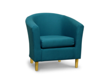 teal 45 tub chair