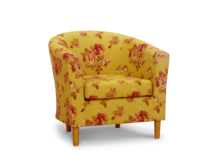 tub chair kew oatmeal fabric 45 degree.