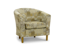 tub chair perth natural fabric 45 degree.