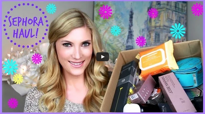 VIDEO: SEPHORA HAUL WITH ELLE FOWLER OF ALLTHATGLITTERS21
