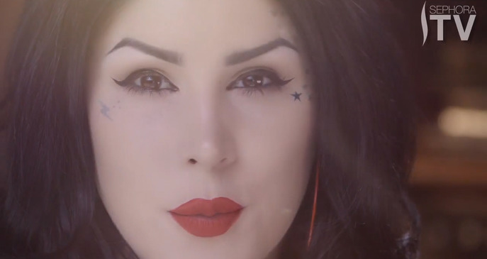 VIDEO: KAT VON D INK LINER TUTORIAL
