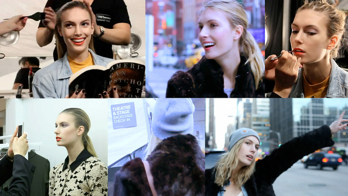 First Person: Mariel Soehner's New York Fashion Week Model Diary