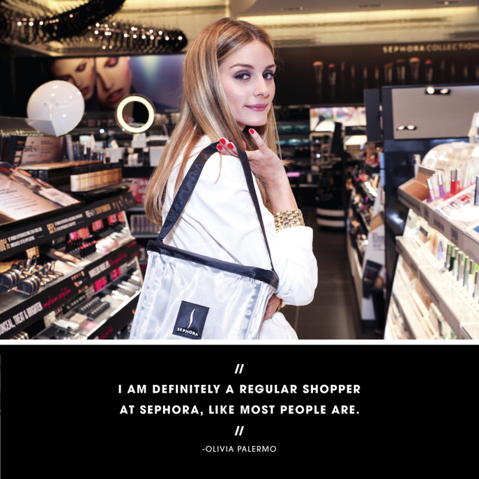 BLACK BAG: OLIVIA PALERMO'S BEAUTY ESSENTIALS